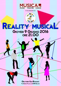 Locandina Reality Musical